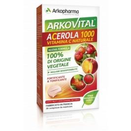 ARKOVITAL ACEROLA 1000 30 COMPRESSE MASTICABILI