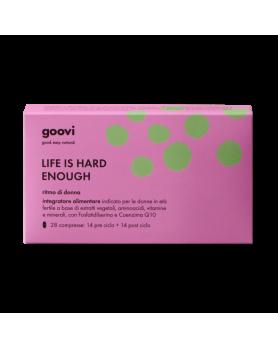 GOOVI LIFE IS HARD ENOUGH 28 COMPRESSE