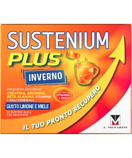 SUSTENIUM PLUS INVERNO GUSTO LIMONE MIELE 22 BUSTINE