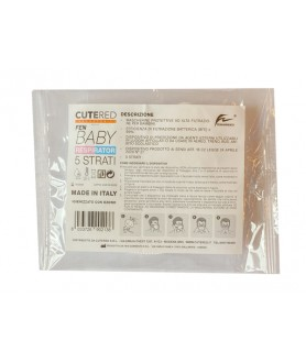 MASCHERINA FEN BABY 5 STRATI prodotta da Fen Garments®