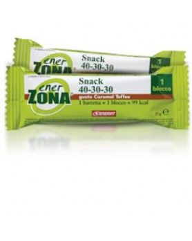 ENERZONA SNACK CAR/TOF 1BAR