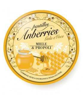ANBERRIES MIELE PROPOLI 55G