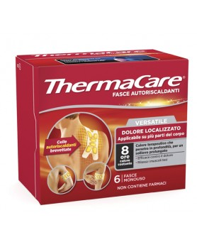 THERMACARE 6 FASCE AUTORISCALDANTI FLEXIBLE USE