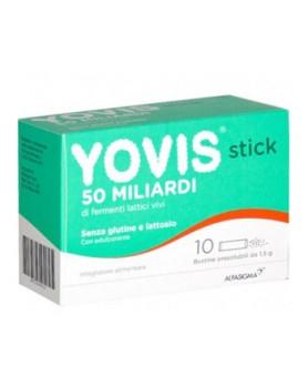 YOVIS STICK 10 BUSTINE OROSOLUBILI DA 1,5 G