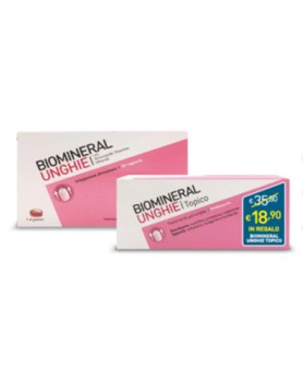 BIOMINERAL UNGHIE 30CPS+TOPICO