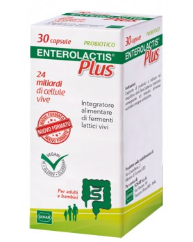 ENTEROLACTIS PLUS 30CPS