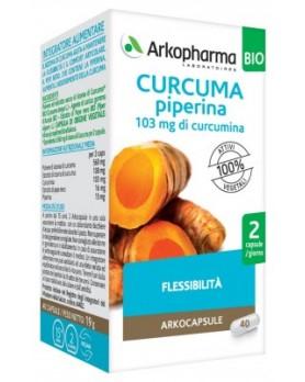ARKOCPS CURCUMA+PIP BIO 40CPS