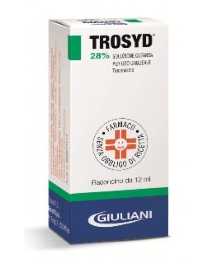 TROSYD SOLUZ UNGUEALE 12ML 28%