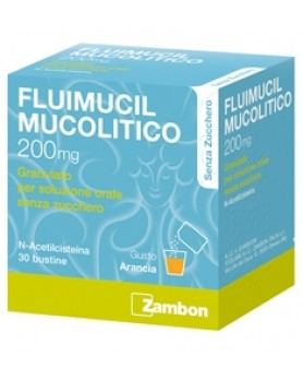 FLUIMUCIL MUCOLOLITICO 30 BUSTINE 200MG S/Z
