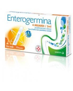 ENTEROGERMINA OS 10FL 4MLD 5ML