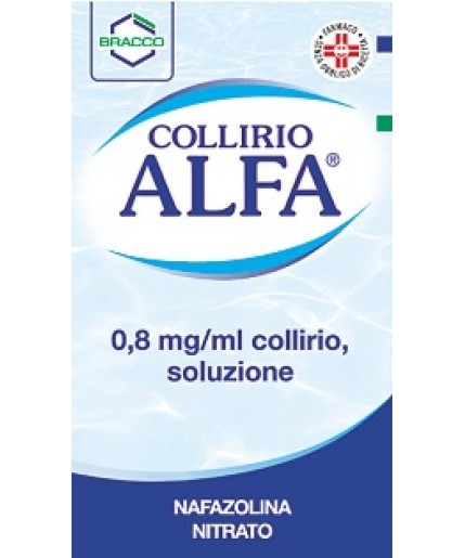 COLLIRIO ALFA GTT 10ML0,8MG/ML