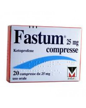 FASTUM 20CPR 25MG