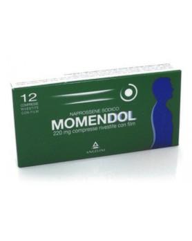 MOMENDOL 12 COMPRESSE RIVESTITE 220MG