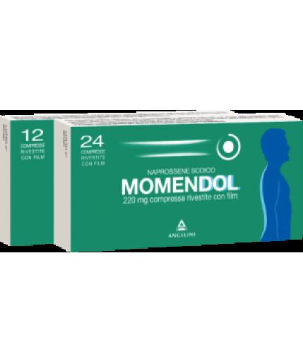 MOMENDOL 24 COMPRESSE RIVESTITE 220MG
