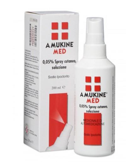 AMUKINE MED SPR CUT 200ML0,05%
