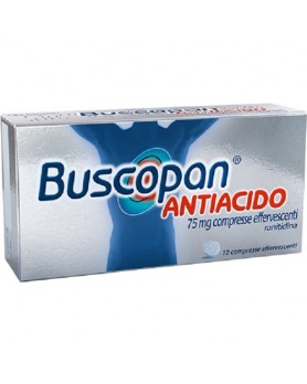 BUSCOPAN ANTIAC 10CPR EFF 75MG