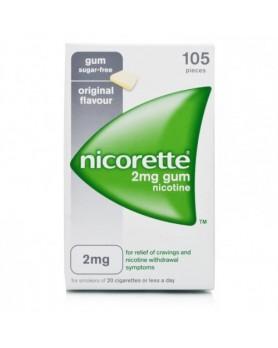 NICORETTE 105GOMME MAST 2MG