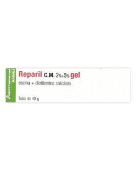 REPARIL GEL CM 40G 2%+5%