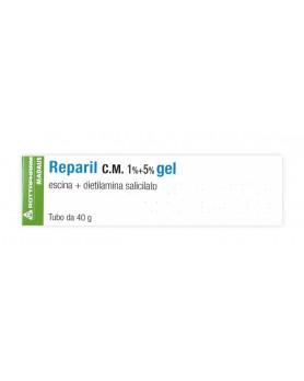 REPARIL GEL CM 40G 1%+5%