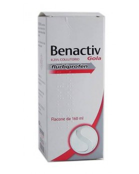 BENACTIV GOLA COLLUT 160ML 2,5