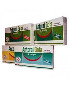 ANTORAL GOLA 20PAST 5MG MIE/LI