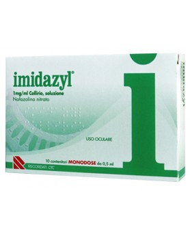IMIDAZYL COLL 10FL 1D 1MG/ML