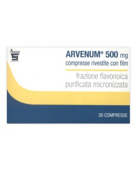 ARVENUM 500 30CPR RIV 500MG
