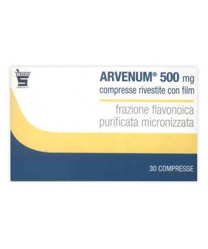 ARVENUM 500 30CPR RIV 500MG