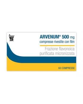 ARVENUM 60CPR RIV 500MG