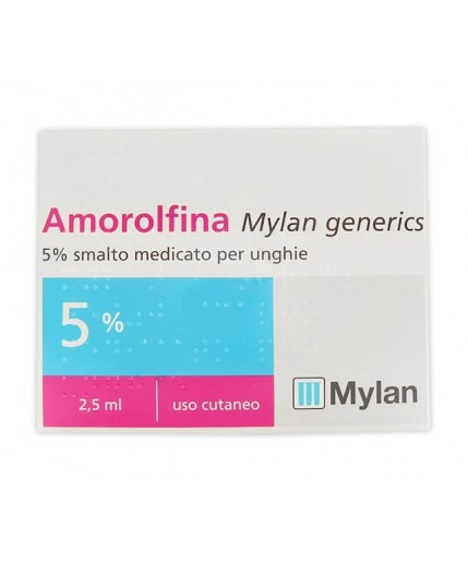 AMOROLFINA MY SMALTO 2,5ML 5%