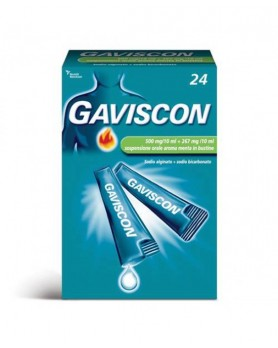 GAVISCON 24BUST 500+267MG/10ML