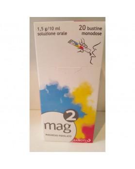 MAG 2 OS SOLUZIONE 20 BUSTINE 1,5G/10ML