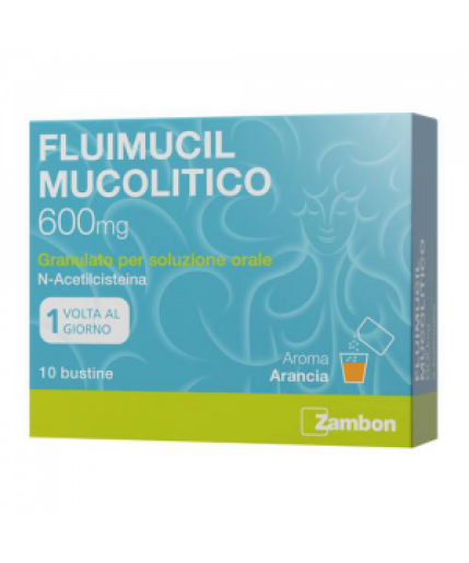 FLUIMUCIL MUCOLITICO OS 10 BUSTINE 600MG