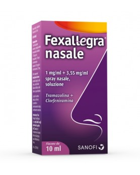 FEXALLEGRA NASALE SPRAY FLACONE DA 10ML