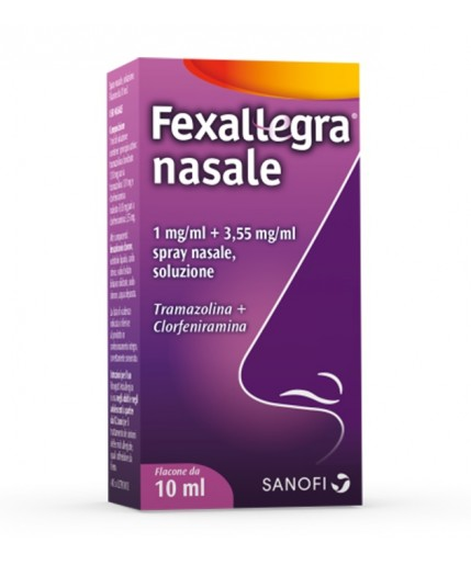 FEXALLEGRA NASALE SPRAY FLACONE DA 10ML
