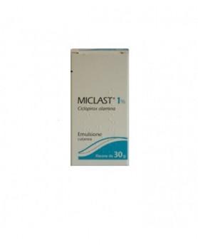 MICLAST EMULS DERM FL 30G 1%
