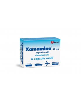 XAMAMINA 6CPS 50MG
