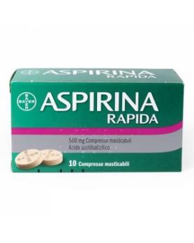 ASPIRINA RAPIDA 10CPRMAST500MG
