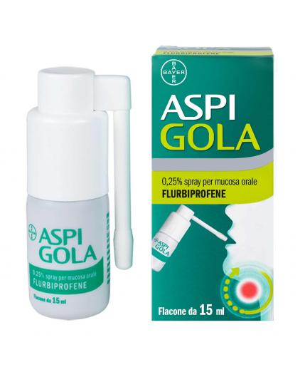 ASPI GOLA OS SPRAY 15ML 0,25%