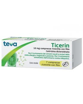 TICERIN 7CPR RIV 10MG
